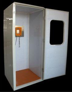 최신 인기 상품 Kntech RF-19 23dB 건강한 증거 전화 박스 청각 두건