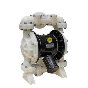 PVDF H2so4 (황산)를 위한 압축 공기를 넣은 격막 펌프