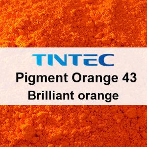 顔料オレンジ43-Perinone (華麗なオレンジ)