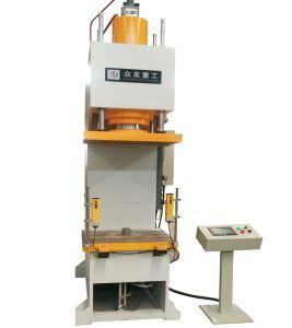 100t Tipo C Prensa Hidráulica da máquina para a folha de metal