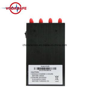 De handbediende, Draagbare, Mini, Mobiele (ingebouwde batterij) GPS Stoorzender van het Signaal van Blokcer van het Signaal, Draagbare Blocker van 8 Banden voor de Cellulaire Telefoon van /3G/4G, WiFi, GPS, Lojack