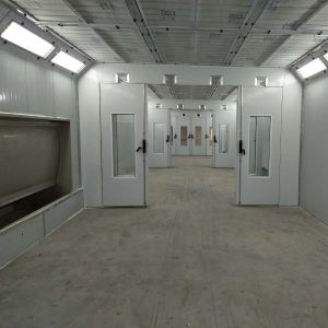 Cer genehmigter kundenspezifischer populärer Möbel-Spritzlackierverfahren-Raum für Verkauf