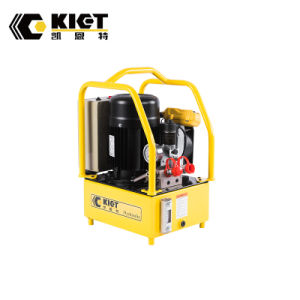 大きいオイルタンク容量油圧トルクレンチのための電気運転された油圧ポンプ