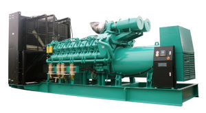 60Hz 1200rpm Diesel Fuel Natural Gas Generator Set 1365kw 1700kVA