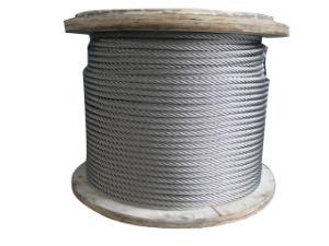 Corda galvanizzata multi filo 6X37+ Iwrc del filo di acciaio del fornitore