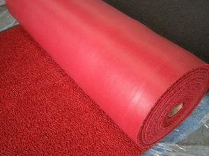 Couvre-tapis bon marché de plancher de bobine de PVC des prix avec la qualité et le bon poids