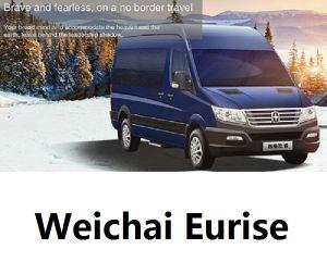 Weichai Eurise 7-16 plazas en mini bus
