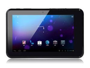 A MTK8377 Funpad 7 polegadas 3G tablet Android Market 4.0 Slot de cartão duplo SIM GPS Bluetooth 512 MB preto branco de 8 GB