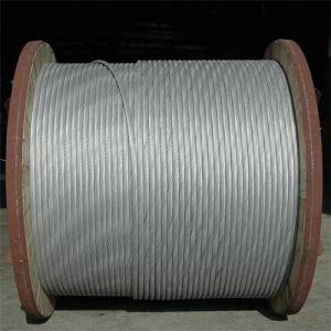 Aço revestido de alumínio Acs Strand Fio para Long-Span Embalagem de linha de transmissão no tambor de madeira