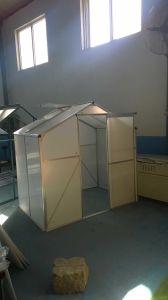Парник с алюминиевым листом рамки и поликарбоната для системы цветка