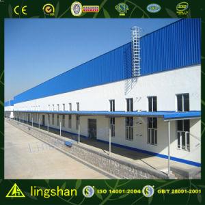 Здания низкой стоимости светлые стальные структурно (L-S-003)