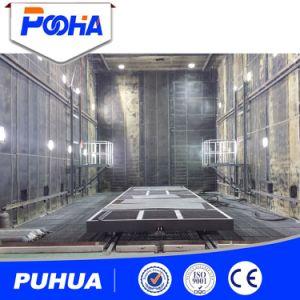 Sistema de recuperación automática de chorro de arena de la Sala de Cámara (Q26).
