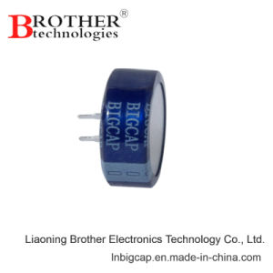 Bigcap Coin Type 5.5V 1.0f Supercapacitor / Farad Capacitor