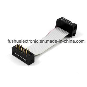 A IDC Fita Flexível do Conjunto de cabo do cabo cinzento Wireness