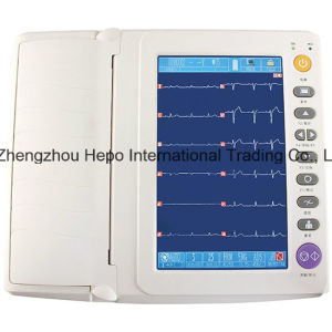 CE Mark 12 канальный цифровой электрокардиографа ЭКГ