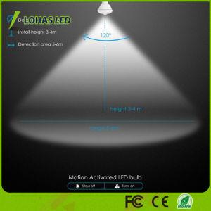 Br30 12W lâmpada LED do sensor de movimento Volta Automática/desligar a lâmpada da luz do LED do sensor