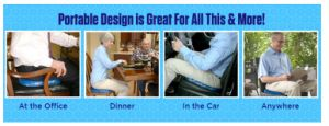 Gel de l'oeuf Sitter Gel Coussin de siège de voiture pour la conduite de voiture utilisée partout !