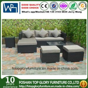 Мебель таблицы софы сада ротанга PE Viro установленная напольная