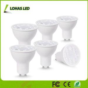 GU10 LED der Glühlampe-50W Scheinwerfer Halogen-gleichwertige 5W weiche des Weiß-3000K