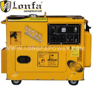 De ultra Stille 5kw 6kw Generator Met geringe geluidssterkte van de Benzine