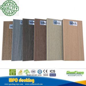 21mm WPC Outdoor Pavimentos de madeira Deck Co-Extrusion Artificial WPC