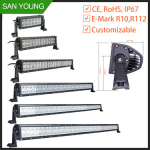 Super Bright 10-30V 120W barre lumineuse à LED off road 4X4 off-road chariot