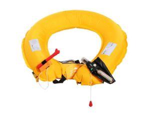 Chaleco salvavidas inflable marina de la correa de cintura