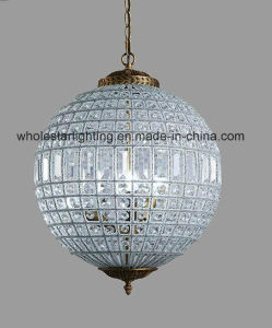 Graupel lustre de cristal ronde classique (WHG-713)