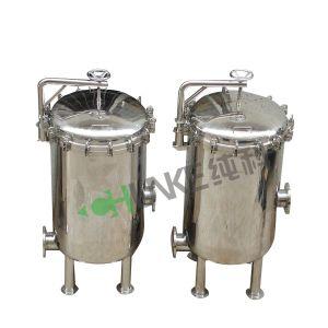 Aço inoxidável Chunke do alojamento do filtro de cartucho para tratamento de água
