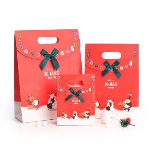 새로운 디자인 카드 종이에 의하여 주문을 받아서 만들어지는 서류상 선물 부대