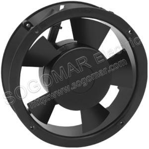172X172X52mmの6inch台所冷却のための円形のパネルのファン220-240VAC