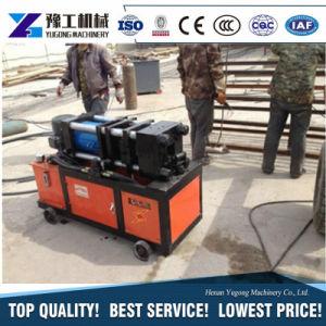 Macchina d'acciaio del tondo per cemento armato per la filettatura del rotolamento della macchina che filetta prezzo più basso della macchina