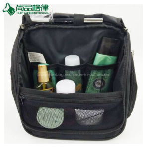 Maillage Sacs cosmétiques fabriquer sur mesure Sac de Toilette organisé jusqu'à fermeture à glissière