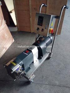 Pompa rotativa del lobo della bevanda dello Zhejiang del cioccolato d'acciaio della pompa