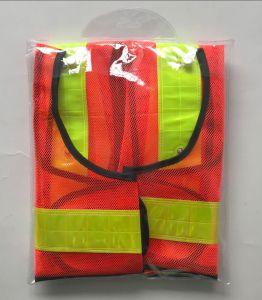 LED Gilet de sécurité réfléchissant avec ruban en PVC