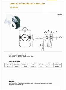 AC de alta velocidad del motor eléctrico monofásico para Montacargas ascensores/Industrial con la aprobación RoHS