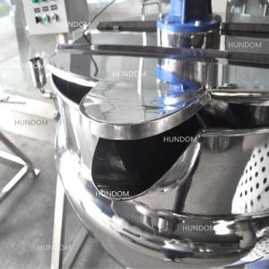 Acciaio inossidabile che inclina la caldaia del rivestimento dell'olio per la salsa delle estetiche dello zucchero