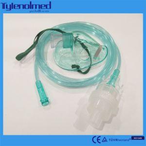 PVC médicaux jetables nébuliseur masque avec Kit Aeresol