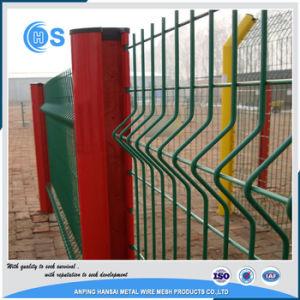 3D金網の塀の工場および溶接された曲げられた鉄条網