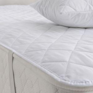 100% algodón orgánico cama Queen Size protector de colchón impermeable acolchada /