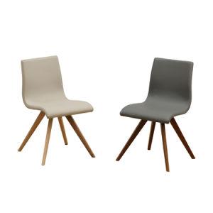 Tejido de poliuretano de fábrica cubre silla de comedor de madera