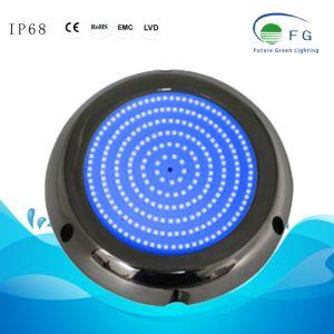 IP68 316ss樹脂によって満たされる18W青い水中LEDのプールライト