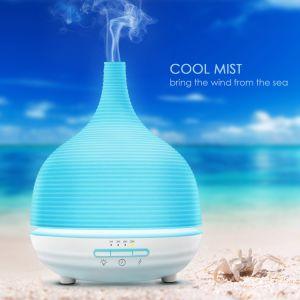 Cabeza de buda de cerámica blanca Aceite Esencial de difusor de aroma de ultrasonidos