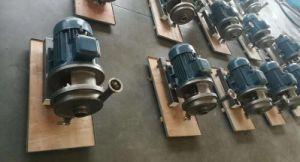 Bomba Centrífuga Sanitária de aço inoxidável máquinas para alimentar óleo de água do leite