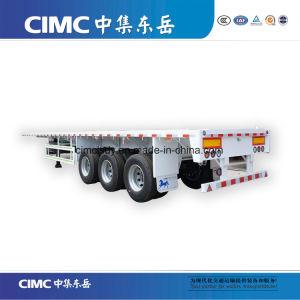 Behälter-Sattelschlepper-LKW der hohes Bett-Tri Wellen-40FT für Verkauf