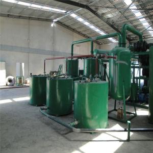 Macchina nera di distillazione della strumentazione dell'olio della base di distillazione dell'olio per motori/olio della miscela/olio usato che ricicla macchina