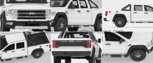 Venta caliente 4WD Recogedor con motor de gasolina