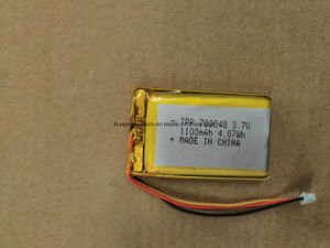 GPS Trakers와 UPS를 위한 고품질 3.7V6000mAh Li 중합체 건전지