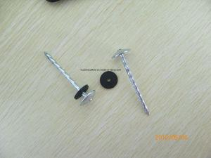 La calidad de la fábrica de uñas trenzado con arandela