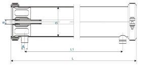 ROのプラント/膜ハウジングのためのステンレス鋼水フィルターハウジング